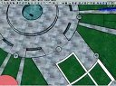 SketchUp视频教程 9-3-3绘制小区中的公共建筑3