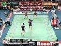 2008年汤姆斯杯羽毛球亚洲区预赛决赛黄智万朴成焕VS扎克利费鲁兹祖安