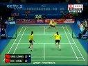 2005年赛琪世界杯羽毛球赛  女子双打决赛  杨维 张洁雯(中国)VS魏轶力 张亚雯(中国)