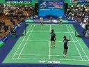 2005年马来西亚羽毛球公开赛 男双决赛 蔡赟 付海峰(中国)VS古键杰 陈文宏(马来西亚)