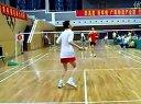廊坊德仁荣华羽毛球大奖赛上精彩的单打比赛