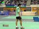 2007年澳门羽毛球公开赛半决赛陈金VS黄宗翰