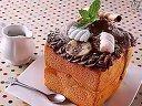 【千草食作】巧克力香蕉蜜糖吐司