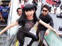 搞笑美女模仿鸟叔骑马舞江南Gangnam Style !