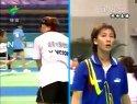 2005年第十届全运会羽毛球赛女团刘健VS龚睿娜