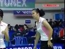 2006年世界杯羽毛球赛女双小组赛杨维张洁雯VS简毓瑾程文欣