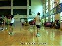 红牛杯羽毛球比赛武强保唐琳芸预赛第一论决胜局