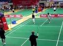 第二十七届全国中老年羽毛球邀请赛-2012年重庆-女双160岁广东老干队VS厦门队