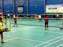 【20120523】羽毛球单打视频 皇冠体育中心羽毛球馆