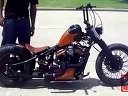 定制 复古Bobbers  Copper Chopper摩托车