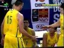 2012年斯坦科维奇杯洲际篮球赛第2轮 澳大利亚VS中国 20120707 广东体育频道