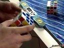 小魔方大智慧:世界冠军教你玩转魔方(三阶魔方还原提速竞技叠杯教程) 拼底层十字和T字形的提速方法1