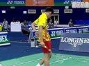 2009年世界羽毛球锦标赛男单四分之一决赛李宗伟-索尼