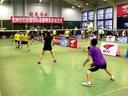 2012索牌羽毛球比赛张玲波,伊守军VS蒙雪梅,康成武21:12 21:12---运动天