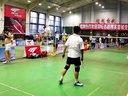 2012索牌羽毛球比赛将东海、敬义 VS 鲁进、田友才 21:1914:215:21
