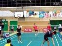 大學生羽毛球邀請賽選段 20120722 - 2