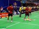小飞人陈健泉VS苏拉吉萨润  第十九届红牛全球华人羽毛球锦标赛
