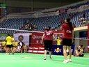 高崚李丽娟VS司徒瑾章涔颖   第十九届红牛全球华人羽毛球锦标赛