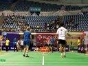 王朋仁陈爱弥VS母利恩盛康美 第十九届红牛全球华人羽毛球锦标赛