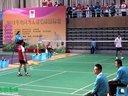 查正春VS黄喜宝 男单决赛(1)  2012全国聋人羽毛球锦标赛