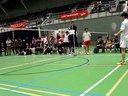 2012全荷联羽毛球赛团体决赛男单比赛最后部分