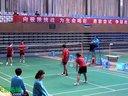 龙福伦张恒艳VS吴胜茂江佳蕾 混双半决赛 2012全国聋人羽毛球锦标赛