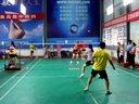 萍乡市第三届业余羽毛球混双比赛 健健 郭倩(高清1)