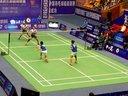 2012中国羽毛球俱乐部超级赛1/4女双决赛(湘大赛区)