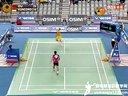 2013年韩国羽毛球公开赛半决赛 杜鹏宇VS索尼 羽毛球知识教学网