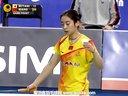 王适娴VS三谷美菜津 2013韩国羽毛球公开赛 爱羽客羽毛球网