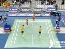 2013韩国羽毛球公开赛混双决赛视频回放录像 张楠赵芸蕾VS徐晨马晋