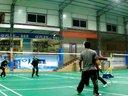 2013-1-22翔云羽毛球俱乐部打球活动