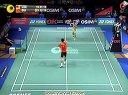 2012丹麦羽毛球超级系列赛李宗伟vs杜鹏宇3