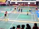 十堰市青少年羽毛球巡回赛第一站比赛视频