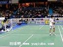 羽毛球比赛视频 男单决赛 林丹vs陶菲克 公开赛 第2局