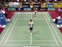李宗伟VS波萨那 2013印度羽毛球超级赛男单半决赛 羽毛球知识教学网
