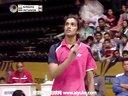因达农VS辛德胡 2013印度羽毛球超级赛 爱羽客羽毛球网