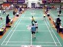 2013年红牛杯羽林争霸宜昌羽毛球业余双打比赛  小新,胖哥vs未知
