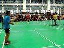 2013年上海市大学生羽毛球男子团体(专业组)男单 同济vs上体2