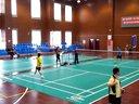 四川省职工羽毛球赛青年组男单冠亚军决赛