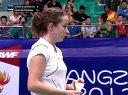 羽毛球知识教学网 奥利弗苏珊娜vs普拉帕卡莫尔桑松卡姆 2013世界羽毛球锦标赛