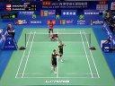 阿末/纳西尔vs张楠/赵芸蕾羽毛球知识教学网2013羽毛球世锦赛