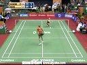 申克VS鲍恩 2013印度羽毛球联赛 爱羽客羽毛球网