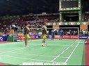 摩根森马琳VS基多马尼莎 2013印度羽毛球联赛 爱羽客羽毛球网