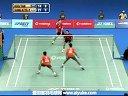 陈文宏古健杰VS雷迪埃特里 2013印度羽毛球联赛 爱羽客羽毛球网