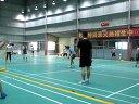 珍好麦社区8月25日不打不相识之二十八期打羽毛球活动视频