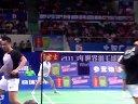 2013年世界羽毛球锦标赛 邦德 佩德森[DEN] VS [INA]苏亚达玛 古纳万