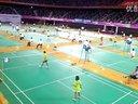 2013体彩杯少儿羽毛球女单比赛
