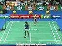 爱羽客羽毛球网 辛德胡VS申克 2013印度羽毛球联赛 女单资格赛