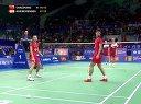 2013年世界羽毛球锦标赛 柴飚 张楠[CHN] VS [DEN]鲍伊 摩根森